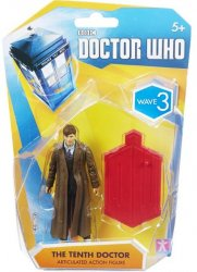 Doctor Who The Tenth Doctor long coat Wave 3 Action Figure
