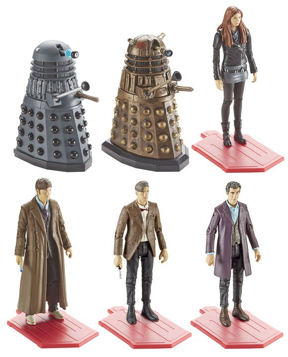 Dr Who Action Figures Wave 3A