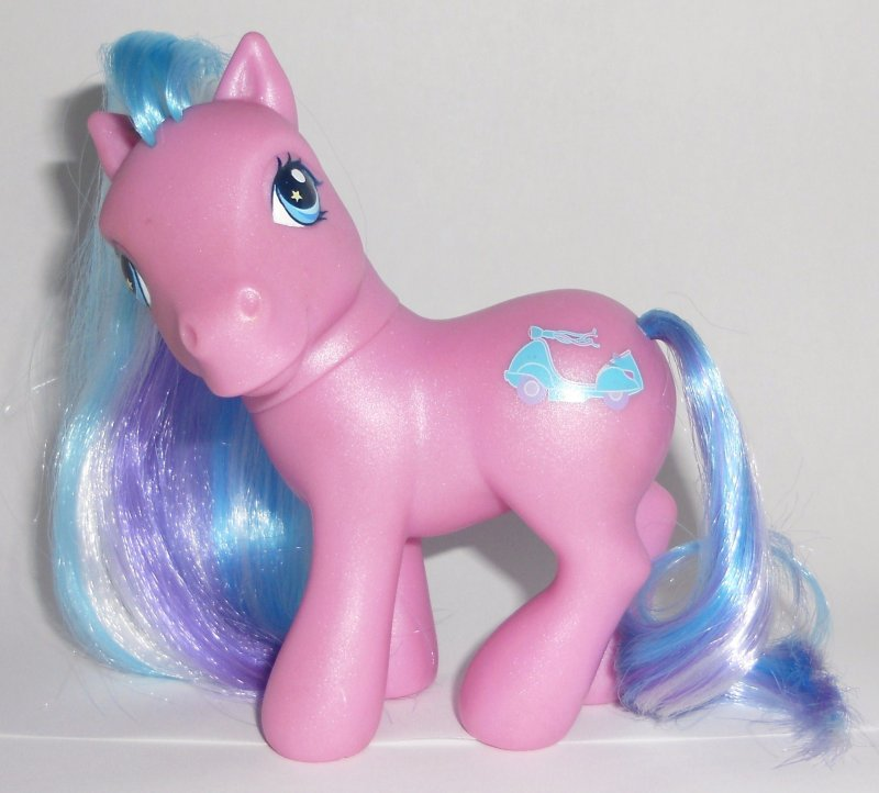 my little pony scooter sprite g3 pearly purple pony loose