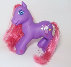 My Little Pony Fizzy Pop G3 Shimmer Pony loose