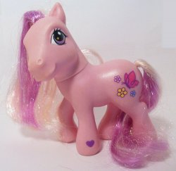 My Little Pony Avalonia G3 pink pony loose