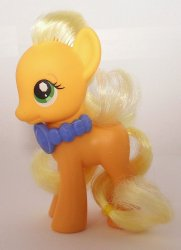 My Little Pony Applejack G4 loose orange pony