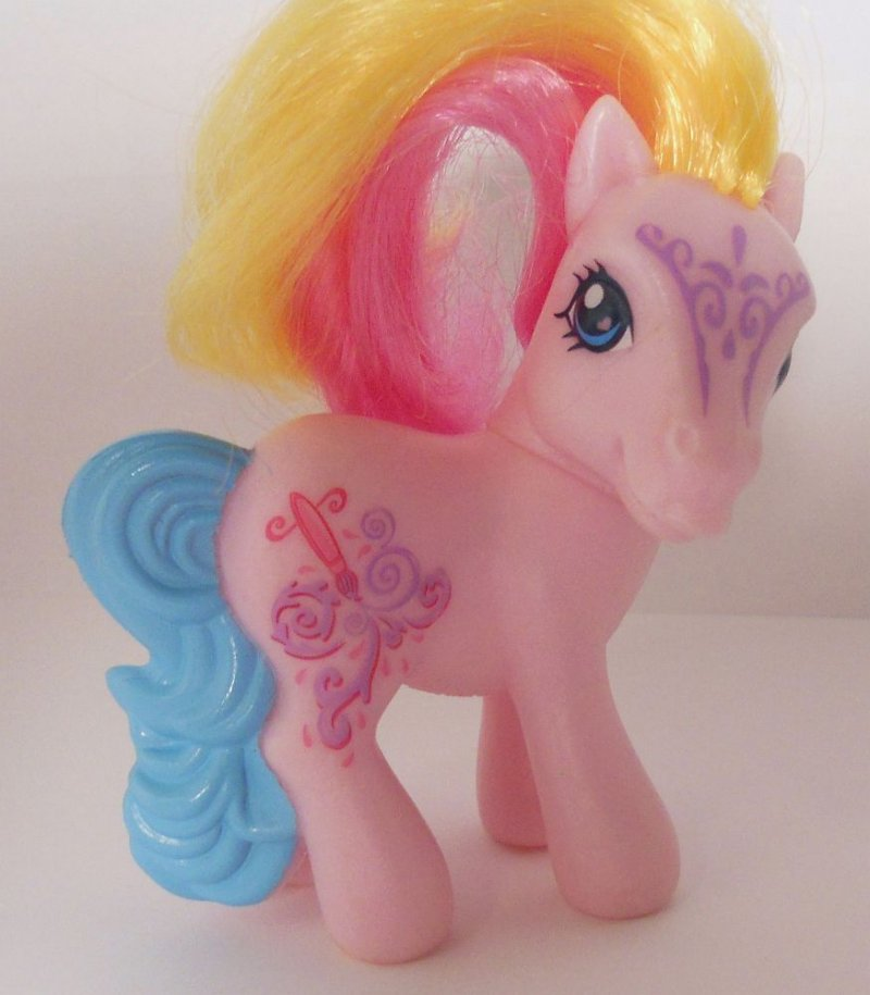 My Little Pony Toola Roola G3 Mcdonald S 2008 Toy Loose
