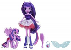 '.Twilight Sparkle Doll and Pony.'