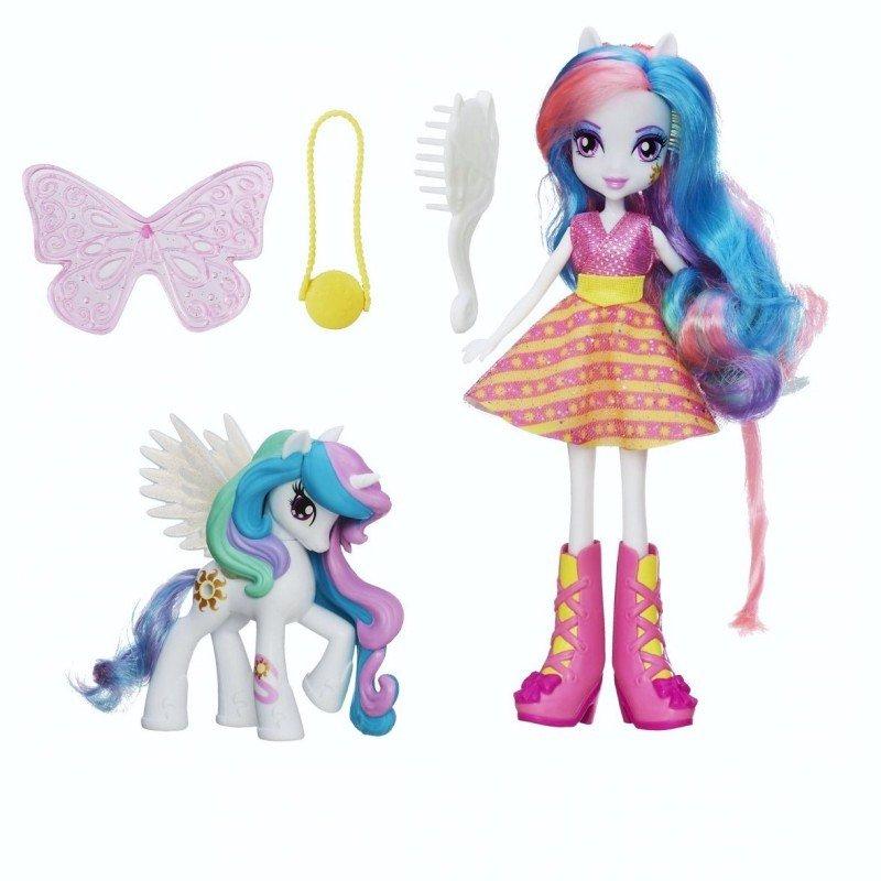 Equestria Girls Princess Celestia Doll Princess Celestia Doll Amp Pony