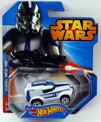 Hot Wheels Star Wars Character Car 501st Clone Trooper 2015