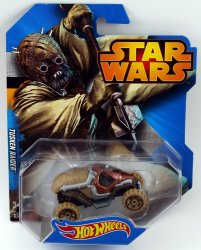 Hot Wheels Star Wars Character Car Tusken Raider 2015
