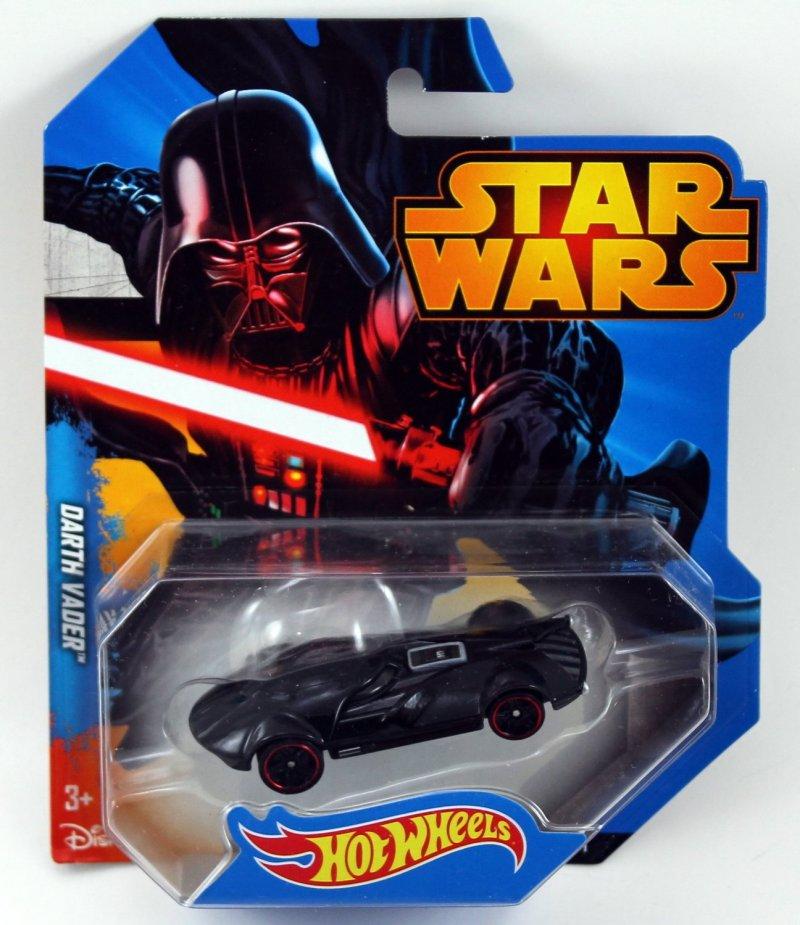 Hot Wheels Star Wars Character Car Darth Vader