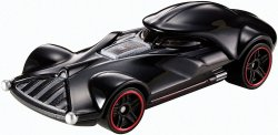 '.Hot Wheels Darth Vader Vehicle.'