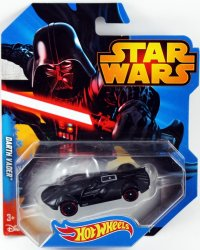 Hot Wheels Star Wars Character Car Darth Vader 2014