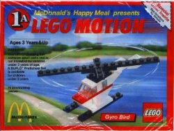 Lego Motion 1A Gyro Bird 1989 McDonald's Promotional Set