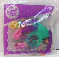 Polly Pocket Lila Kitty Carrier McDonald's Toy 2008