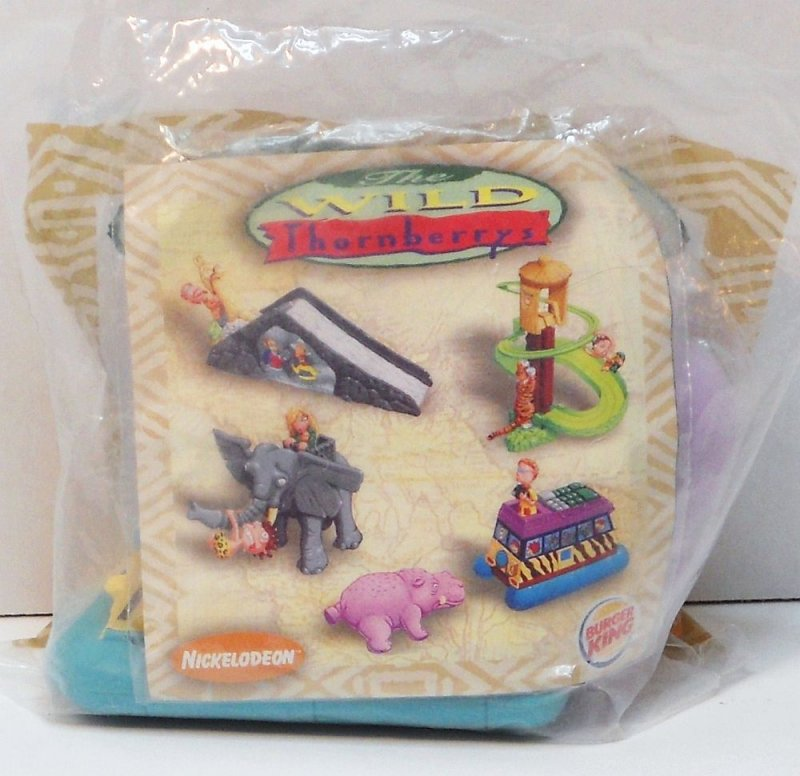 The Wild Toys : The wild thornberrys burger king kids meal toy
