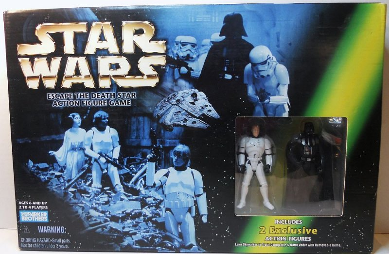 Star Wars Toy Game : Star wars escape the death game w action figures