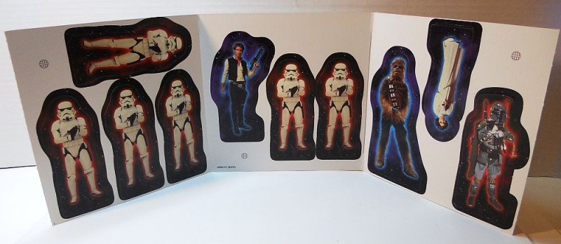 Star Wars Parker Brothers Action Figure board game