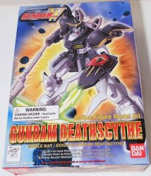 Gundam Deathscythe 1/144 Mobile Suit action figure model Bandai 1995