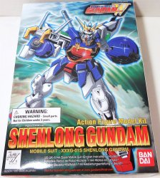 Gundam Shenlong 1/144 Mobile Suit Action Figure model Bandai 1995