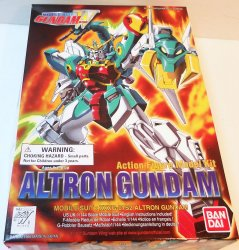 Gundam Alton 1/144 Mobile Suit Action Figure model Bandai 1995