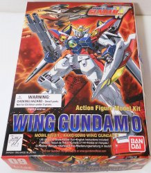 Wing Gundam 0 1/144 Mobile Suit model action figure Bandai 1995