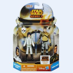 Star Wars Rebels Mission Series Ezra Bridger and Kanan Jarrus MS18
