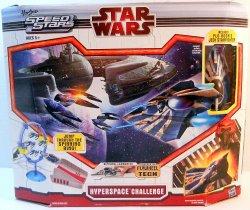Star Wars Hyperspace Challenge Playset Micro Machines Speed Stars