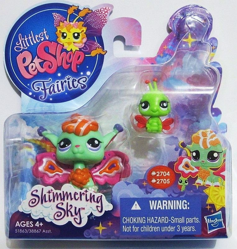 Littlest Pet Shop Shimmering Sky Fairies