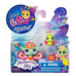 Littlest Pet Shop Shimmering Sky Fairies Sunscape 2704 Ladybug 2705