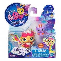 Littlest Pet Shop Shimmering Sky Fairies Rain Prism 2712 Bat 2713
