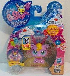Littlest Pet Shop Fairies Sweet Pop 3070 Light up glow fairy w/token