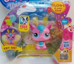 Littlest Pet Shop Fairies Cherry Cyclone 3071 Light up glow fairy w/token