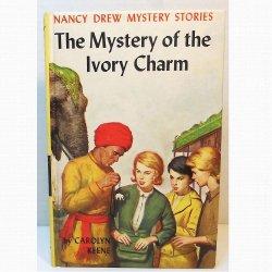 Nancy Drew 13 The Mystery of the Ivory Charm Original Text Blue EP Carolyn Keene