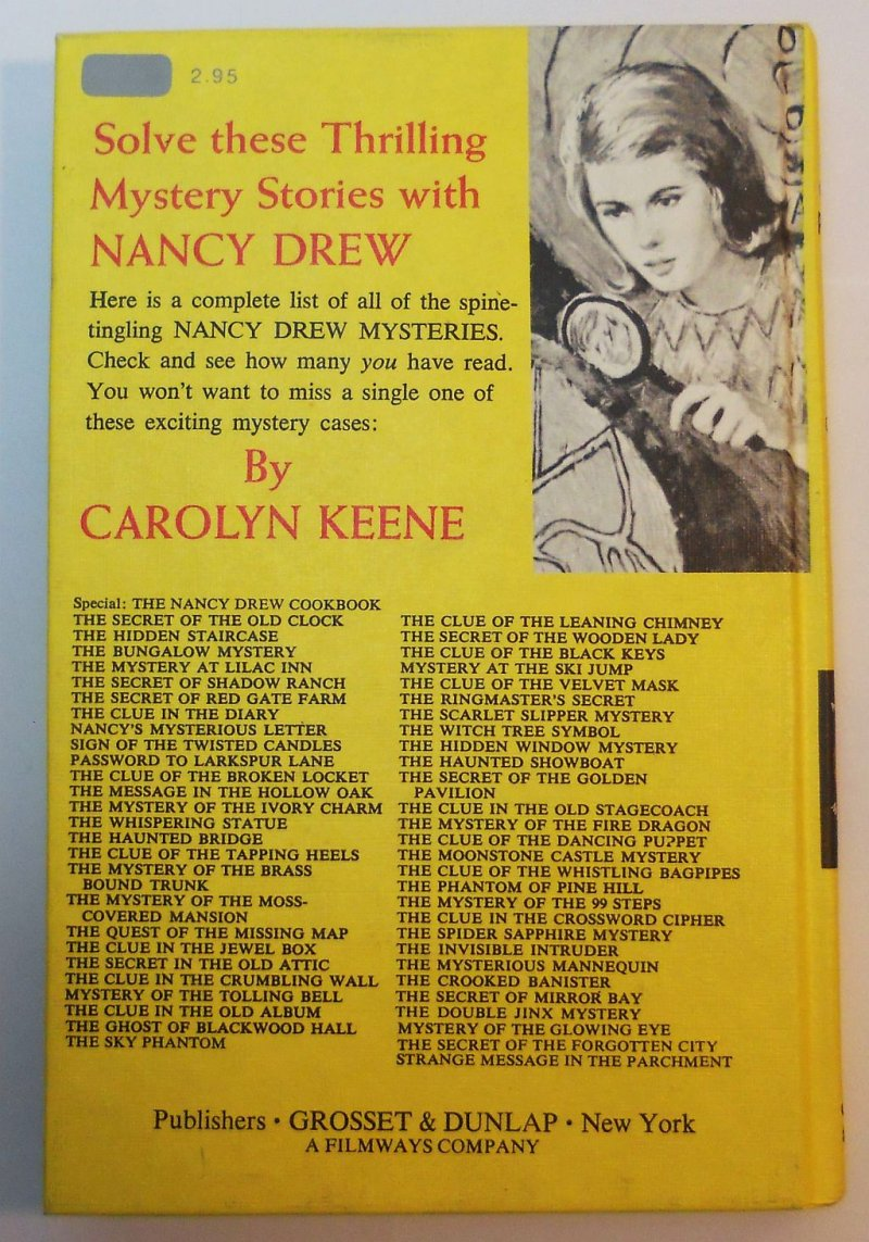 Nancy Drew #36 The Secret of the Golden Pavilion picture cover Carolyn Keene