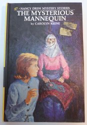 Nancy Drew #47 The Mysterious Mannequin picture cover Carolyn Keene