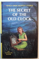 Nancy Drew #1 The Secret of the Old Clock picture cover Carolyn Keene