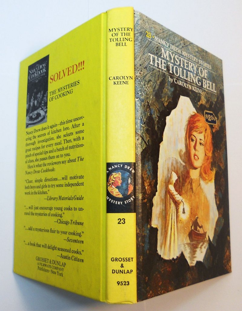 Nancy Drew Mystery Book #23 PC Carolyn Keene 1977 print