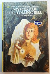 Nancy Drew #23 Mystery of the Tolling Bell PC Carolyn Keene cookbook ad