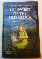 Nancy Drew #1 The Secret of the Old Clock blue EP PC 1966 print