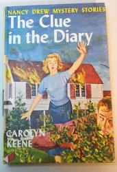 Nancy Drew #7 The Clue in the Diary early white EP PC 1967