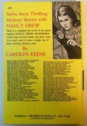 '.Nancy Drew Mystery book #17.'
