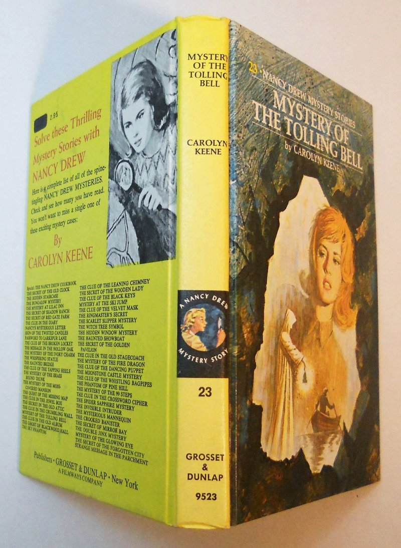 Nancy Drew Mystery #23 PC 1977 print Carolyn Keene