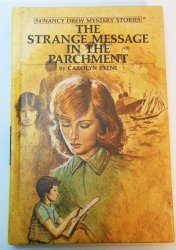 Nancy Drew #54 The Strange Message in the Parchment picture cover 1979