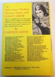 '.Nancy Drew Mystery book #54.'