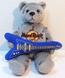 Hard Rock Cafe Herrington Teddy Bear Beanie London 2006