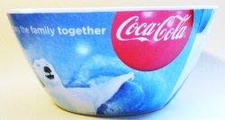 '.Coca Cola Polar Bear Bowls.'