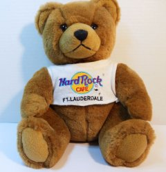 Hard Rock Cafe Herrington Teddy Bear Ft. Lauderdale 2000