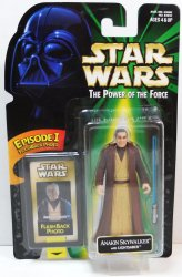 Star Wars Anakin Skywalker, Sebastian Shaw figure, POTF Flashback photo 1998