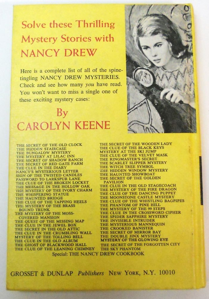 Nancy Drew The Moonstone Castle Mystery HC 1963
