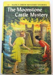 Nancy Drew #40 The Moonstone Castle Mystery picture cover
