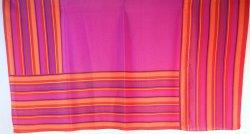 Liz Claiborne square multi colored vintage scarf