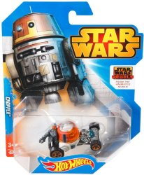 Star Wars Rebels Hot Wheels Character Cars Chopper 2015